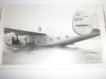 Rare photo of Fairbanks boarding the Yankee Clipper in Ireland, Sept. 1939