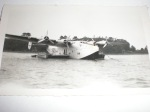 Rare photo of Fairbanks on Yankee Clipper at Foynes, County Limerick, Ireland, Sept. 1939