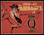 "One-sheet for ""Don Q. - Son of Zorro,"" 1925"