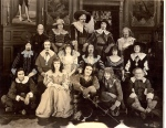 "Fairbanks, Mary Pickford and cast of ""The Three Musketeers,"" 1921"