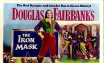 "Movie poster for ""The Iron Mask"" re-release, 1954"